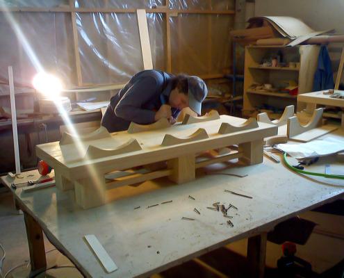 Процесс производства деревянных интерьеров. Фото 10