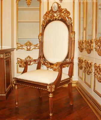 Деревянный интерьер кабинета. Фото10