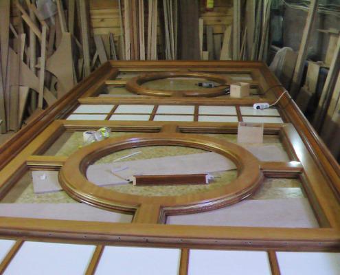 Процесс производства деревянных интерьеров. Фото 12
