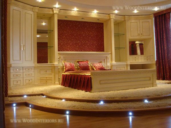 Деревянная мебель в интерьере квартиры. Фото1