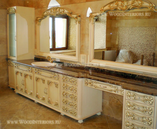 Интерьер ванной комнаты. Фото1