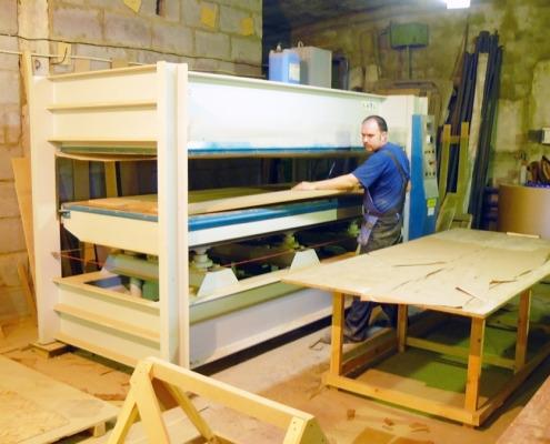 Процесс производства деревянных интерьеров. Фото 1