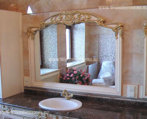 Интерьер ванной комнаты. Фото3