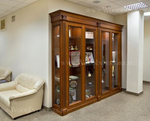 Деревянный интерьер зала конференций. ФНП. Фото6