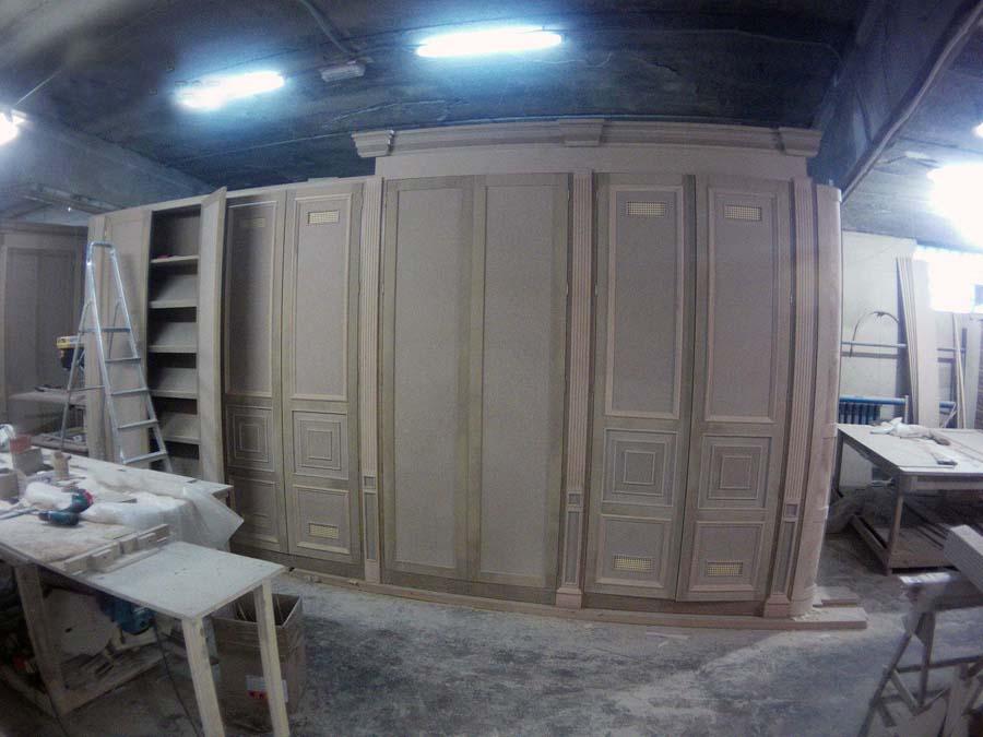 Процесс производства деревянных интерьеров. Фото 25