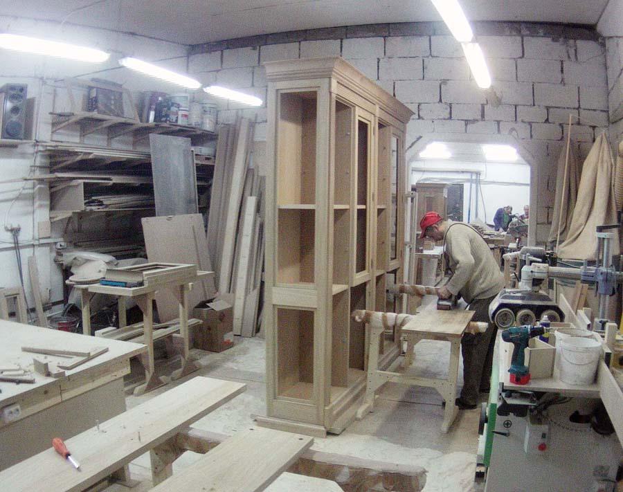 Процесс производства деревянных интерьеров. Фото 26