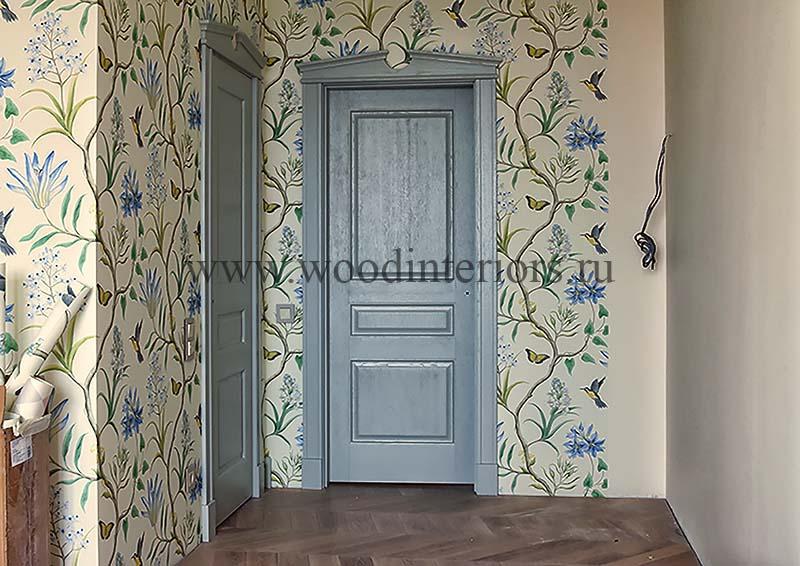Деревянные двери на заказ. Краснов
