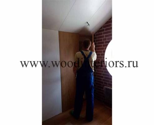 Деревянные двери на заказ. Монтаж 3