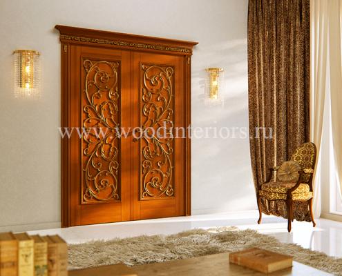 Двустворчатые межкомнатные двери. Дизайн и проектирование