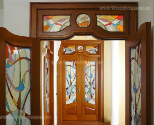 Деревянные двери. Портфолио