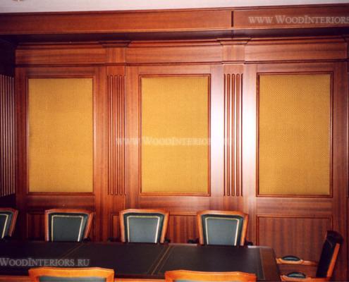 Деревянные стеновые панели. Мэрия