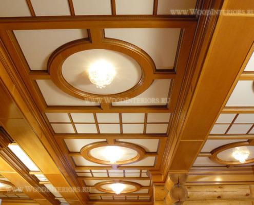 Кессонные потолки.Портфолио
