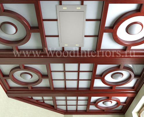 Кессонный потолок. Дизайн. Петрушино1