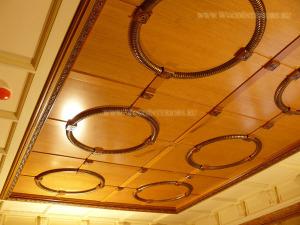 кессонный потолок. горки круглый
