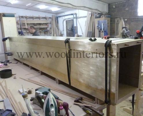 Стеновые панели из латуни. Процесс изготовления.