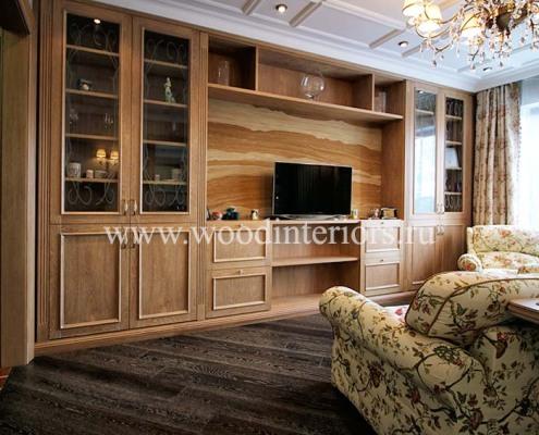 мебель из дерева на заказ. Гостиная