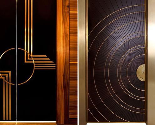 двери из латуни - 2