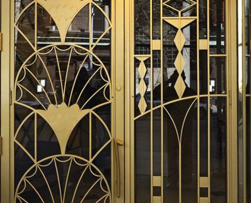 двери из латуни - 4