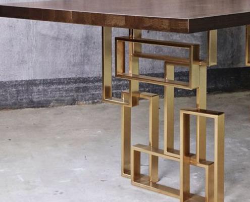 мебель из латуни - 1