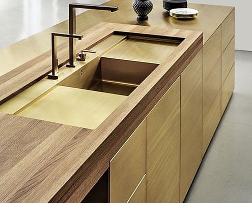 мебель из латуни - 7