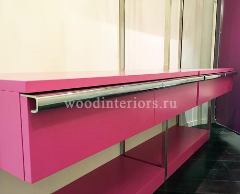 Мебель из дерева на заказ для гардеробной комнаты №211