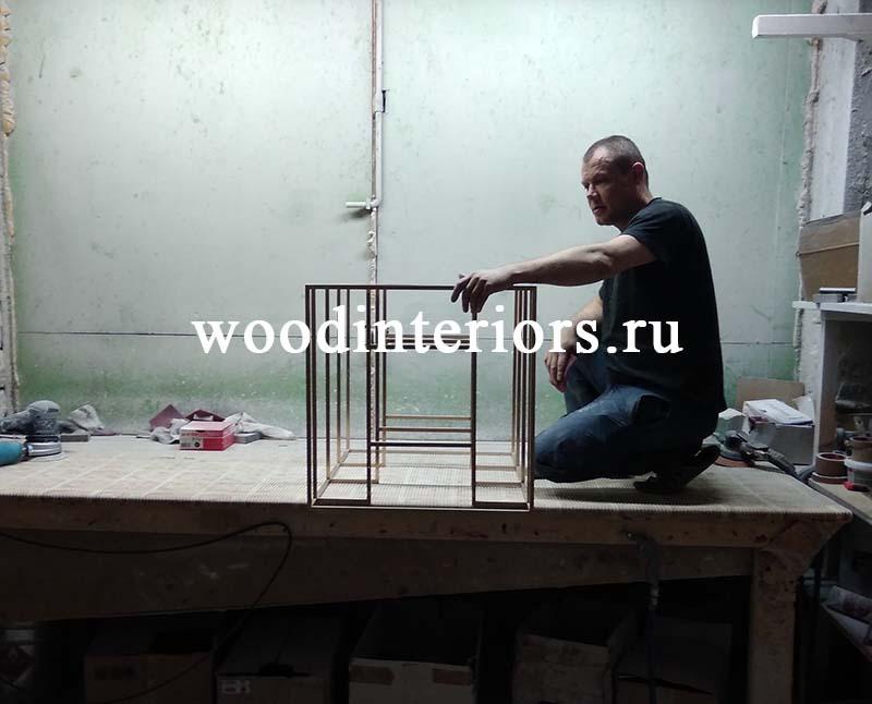 Мебель из латуни. Изготовление.