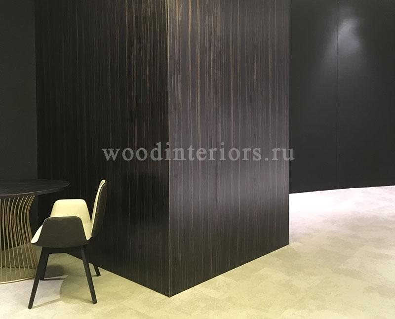 Деревянные стенвые панели. Плоские шпонированные. Терминал Шереметьево-VIP 1333