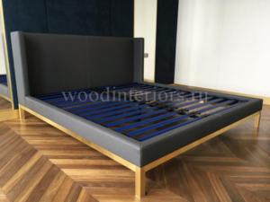 мебель из латуни. кровать