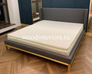мебель из латуни кровать с латунными ножками
