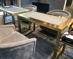 стол из латуни мебель из латуни Рочдельская
